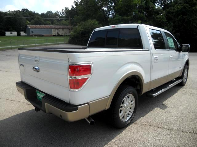Ford F-150 Lariat SuperCrew Short Box 2WD 2012